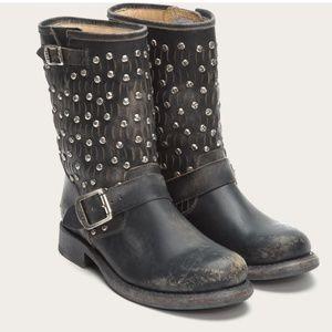 Frye Cut Jenna Studded Short Boot